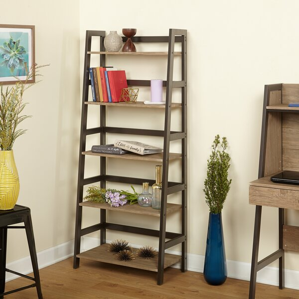 Mcmath 5 Tier Standard Bookcase by Williston Forge