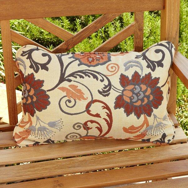 Elita Outdoor Sunbrella Lumbar Pillow (Set of 2) by World Menagerie