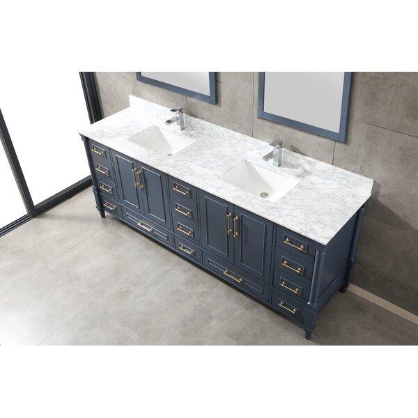 Carneatly 84 Double Bathroom Vanity