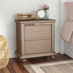 Almerton 2 Drawer Nightstand by Simmons Casegoods by Willa Arlo Interiors