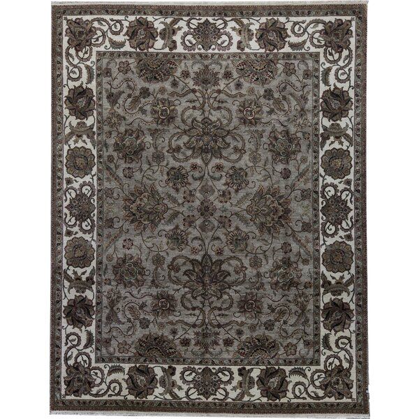 One-of-a-Kind Mountain King Hand-Knotted Brown 11'11 x 15'4 Wool Area Rug
