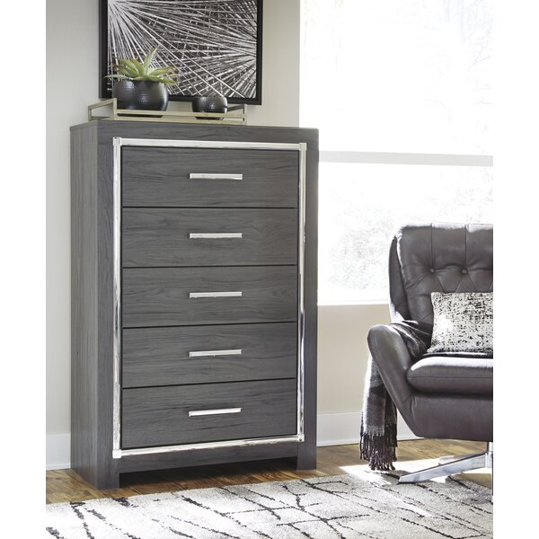 Halesworth 5 Drawer Chest by Orren Ellis