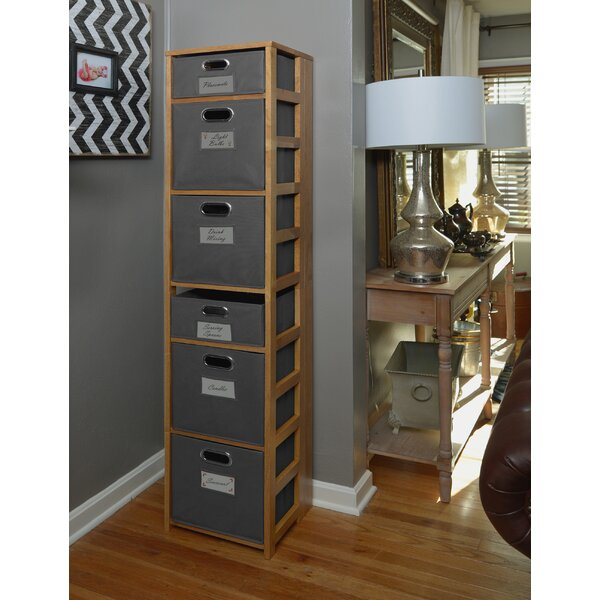Belue Standard Bookcase by Rebrilliant