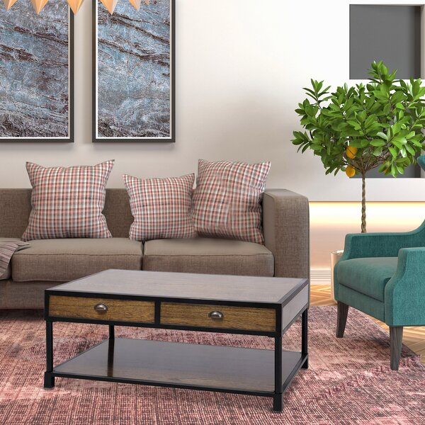 Bergman Coffee Table With Storage By Gracie Oaks