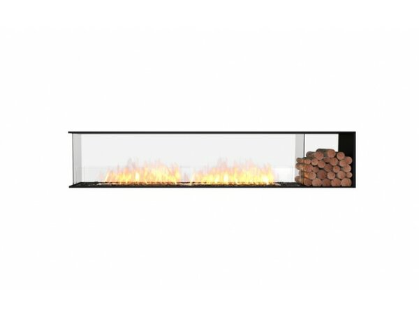 FLEX104 Peninsula Wall Mounted Bio-Ethanol Fireplace Insert by EcoSmart Fire