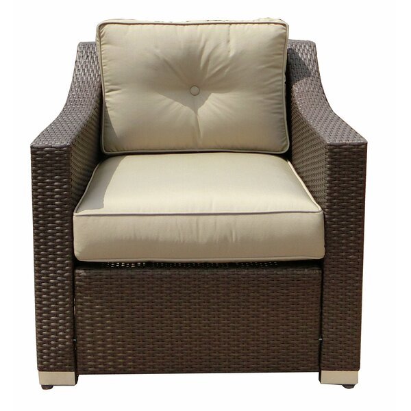 Tampa Patio Chair with Cushion by World Wide Wicker