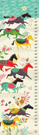 Wild Horses Growth Chart by Oopsy Daisy