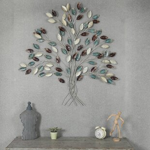 Metal Family Tree Wall Art Wayfair