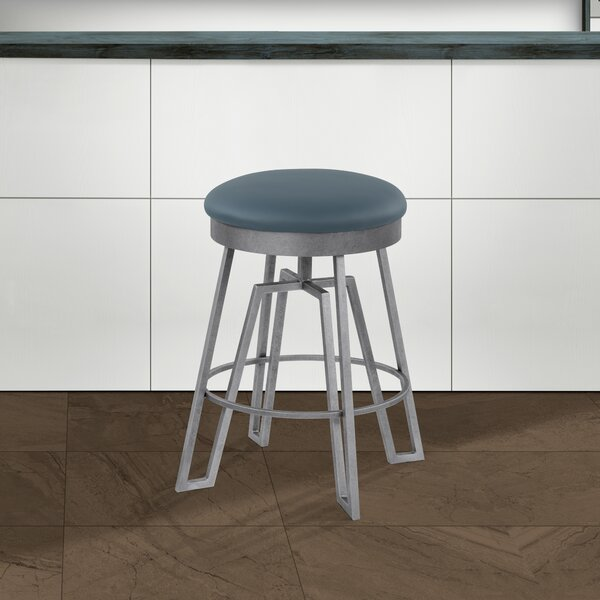 Dasilva Swivel Bar & Counter Stool by 17 Stories 17 Stories