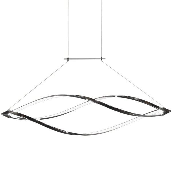 Lupi 1-Light LED Geometric Pendant by Orren Ellis
