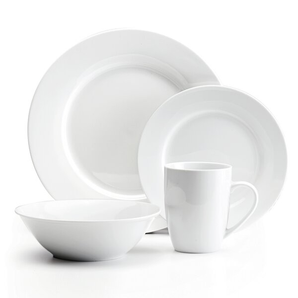Lovern Classic 16 Piece Dinnerware Set, Service for 4 by Winston Porter