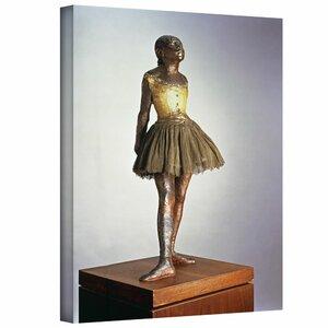 'The Little Dancer (Petite danseuse de quatorze ans)' by Edgar Degas Painting Print on Wrapped Canvas by ArtWall