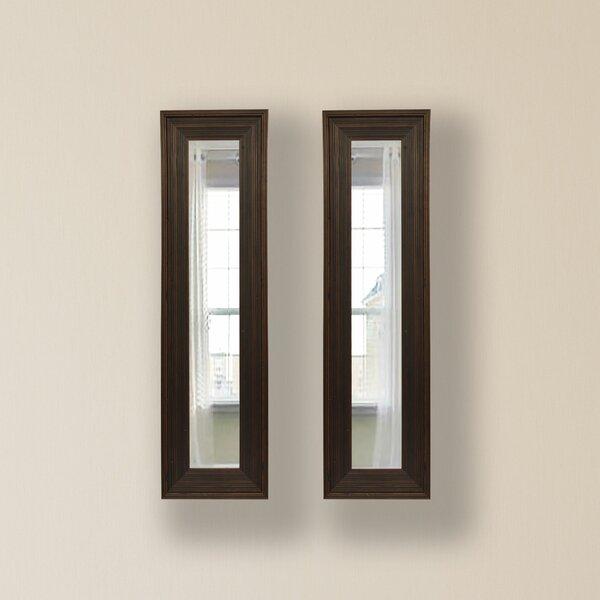 2 Piece Kincannon Panels Mirror Set (Set of 2) by Charlton Home