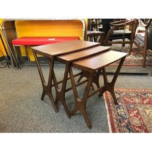 Read Reviews Julius 3 Piece Nesting Tables ByLatitude Run