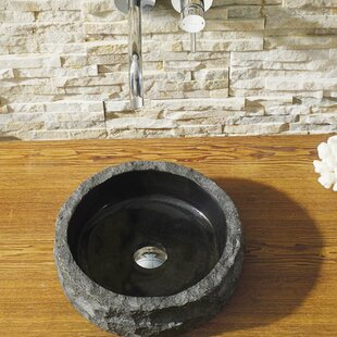 Great Price Hercules Stone Circular Vessel Bathroom Sink ByVirtu USA