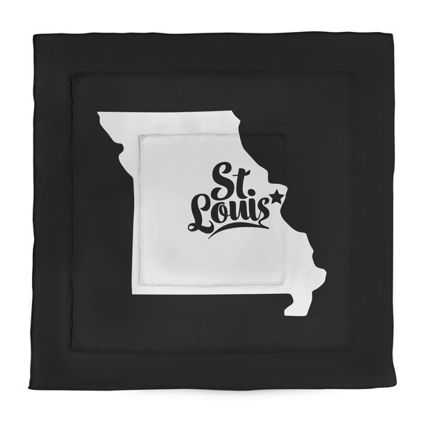 St. Louis Missouri Single Reversible Comforter