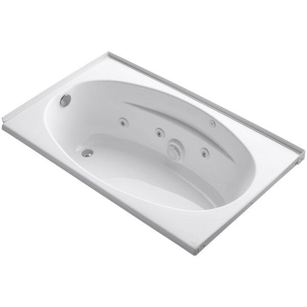 Alcove 60 x 36 Whirpool Bathtub by Kohler