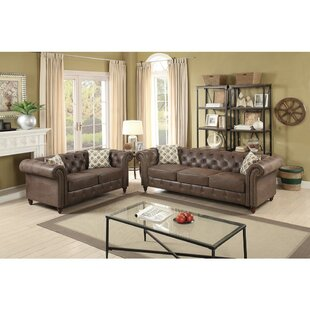Laguerre 2 Piece Living Room Set by Alcott Hill