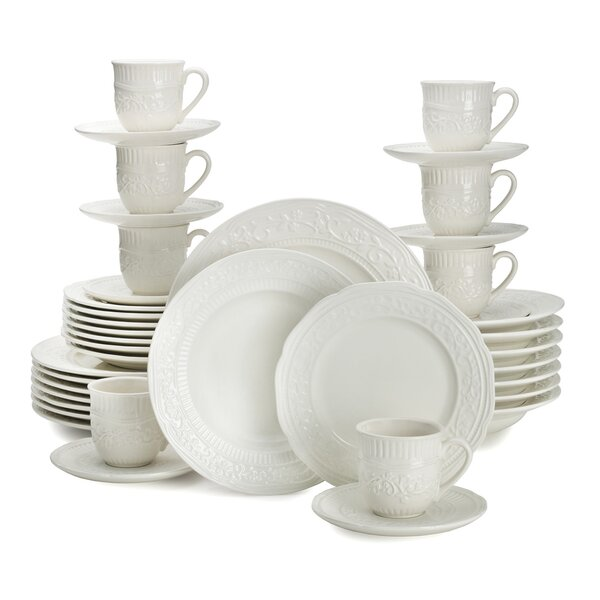 American Countryside 40 Piece Dinnerware Set, Service for 8 by Mikasa