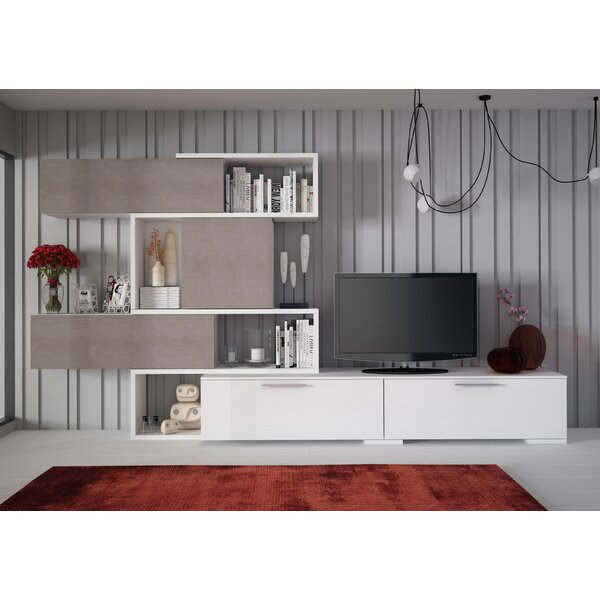 Maloy Entertainment Center For TVs Up To 88 Inches By Brayden Studio