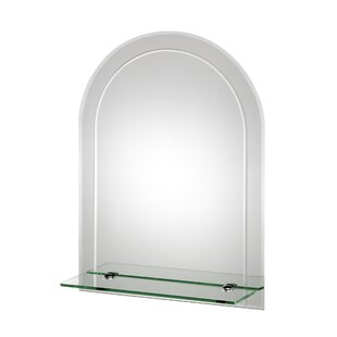 Best Garbani Arch Bathroom/Vanity Mirror By Orren Ellis