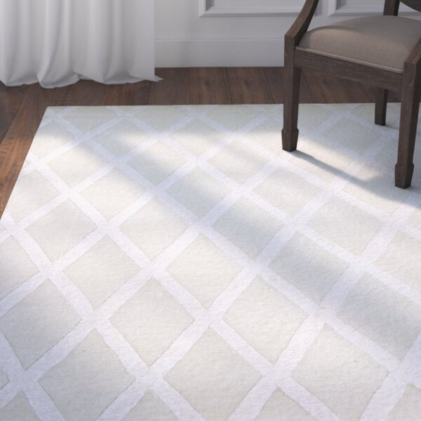 Summerset Hand-Tufted Ivory Area Rug by Darby Home Co