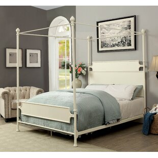 Klaus Canopy Bed by Alcott Hill