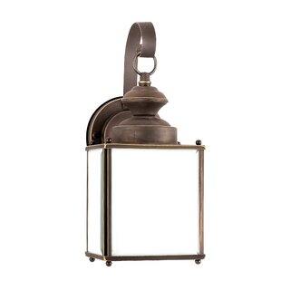 Find the perfect Burrows 1-Light Outdoor Wall Lantern By Darby Home Co