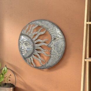 Celestial Sun And Moon Wall Decor