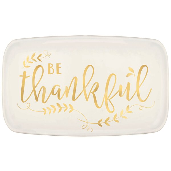 Autumn Thankful Platter by Amscan