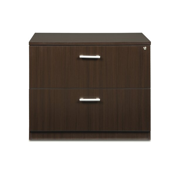 Gerth Locking 2-Drawer Lateral Filing Cabinet