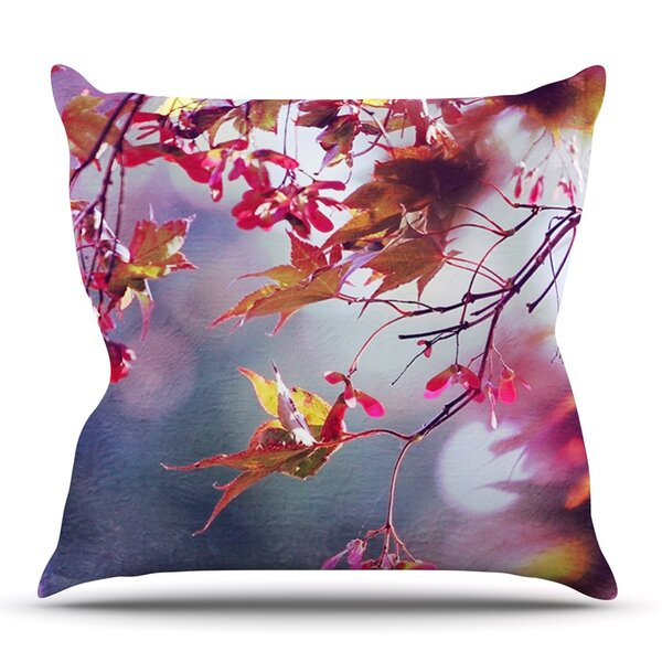 Autumn by Sylvia Cook Outdoor Throw Pillow by East Urban Home