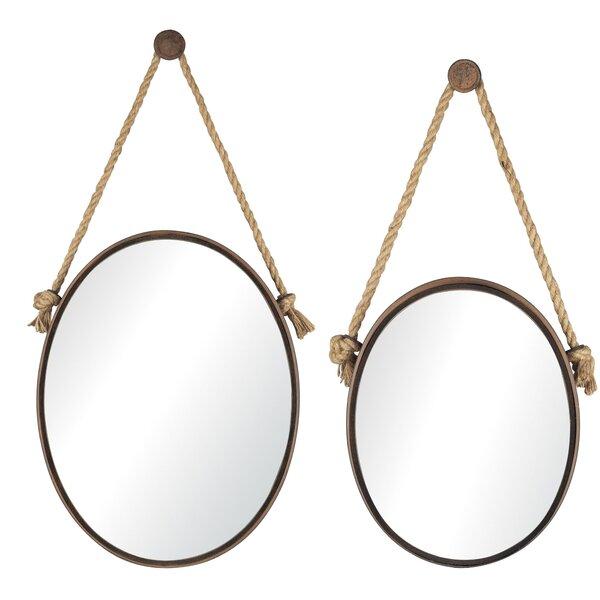 2 Piece Rope Mirror Set by Trent Austin Design