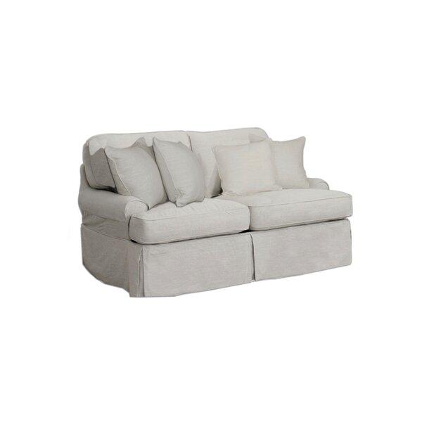 Callie T-Cushion Loveseat Slipcover