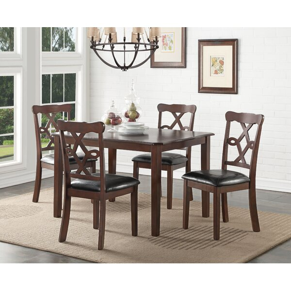 Downer 5 Piece Dining Set by Darby Home Co