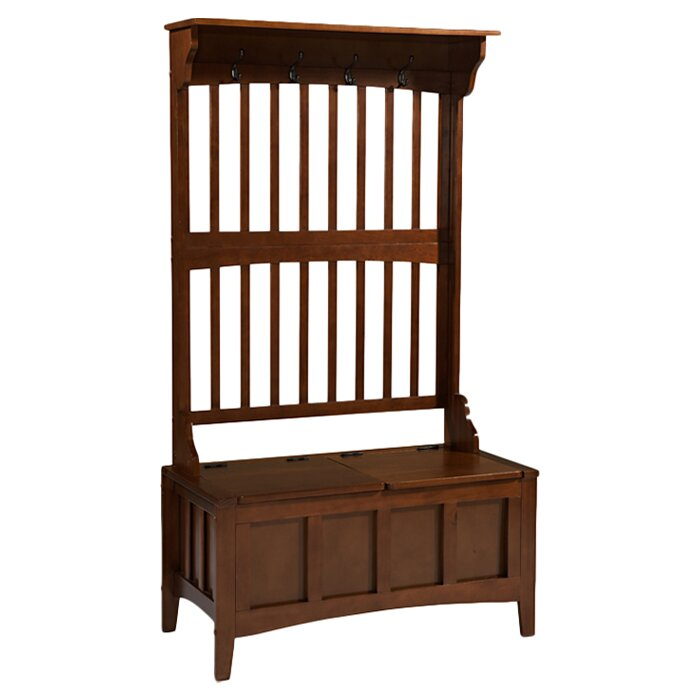 Merveilleux Keystone Hall Tree With Storage Bench