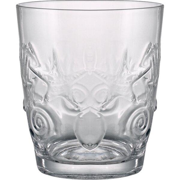 Cady 11 Oz. DOF Glass (Set of 4) by Beachcrest Home