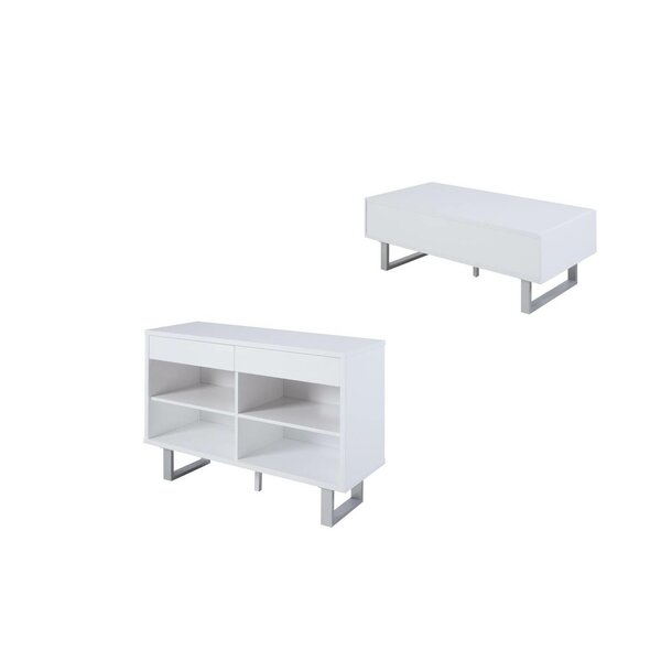 Braud 2 Piece Coffee Table Set