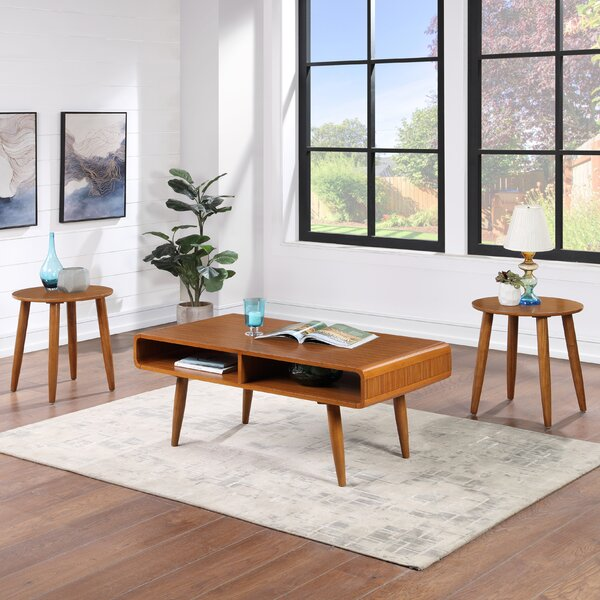 Leitch 3 Piece Coffee Table Set By George Oliver