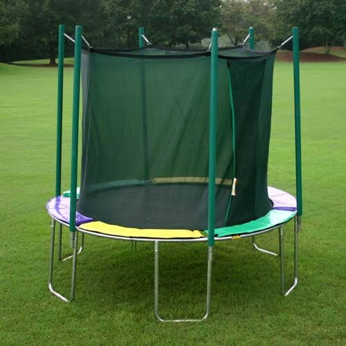 10 ft. Round Trampoline with Enclosure by Kidwise