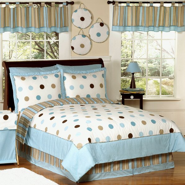 Mod Dots Comforter Set by Sweet Jojo Designs