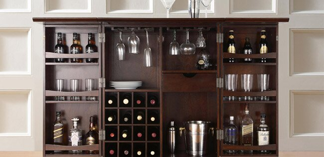 Point Of A Room Providing Not Only Functional Beverage Storage But Also Useful Place For Seating And Entertaining Bar Cabinet Or Serving Cart