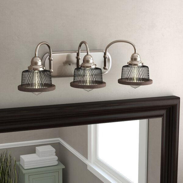 Murillo 3-Light Vanity Light by Beachcrest Home