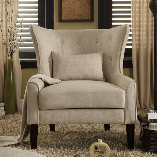 Millett Wingback Chair by Three Posts