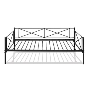 Swank Metal Twin Daybed with Trundle