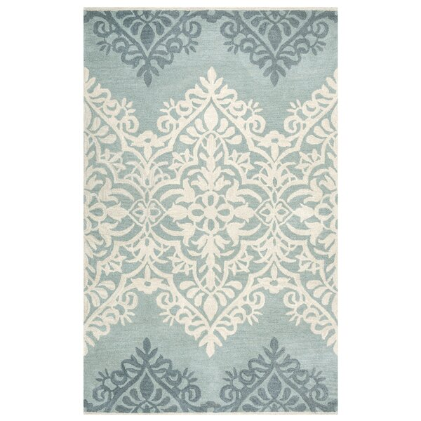 Southwell Hand-Tufted Blue/Green Area Rug by House of Hampton