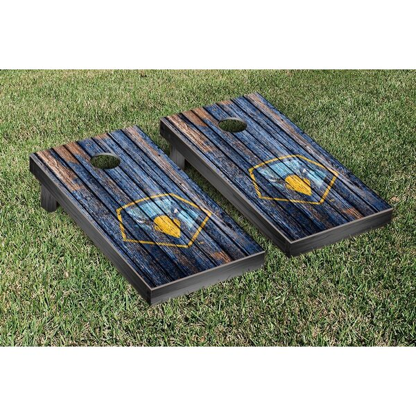 NAIA Point Skyhawks Harcourt Triangle Version Cornhole Game Set by Victory Tailgate