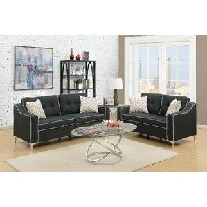 Black Living Room Set Black Living Room Sets You'll Love  Wayfair