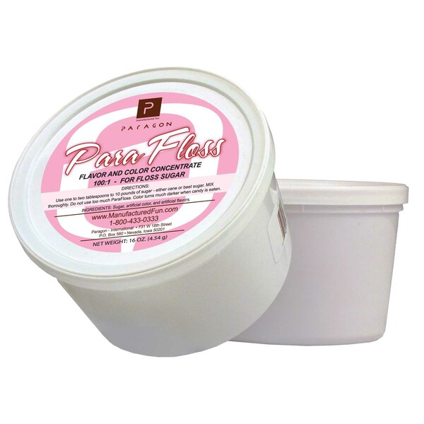 16 oz. ParaFloss Sugar Tub by Paragon International