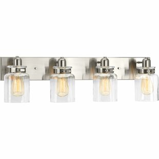 exciting 4 light bathroom vanity fixture. Save to Idea Board Bathroom Lighting With Outlet  Wayfair
